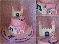 princess-castle-cake-carriage