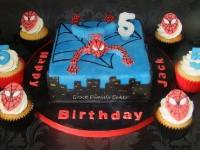 spiderman-cake-cupcakes-1